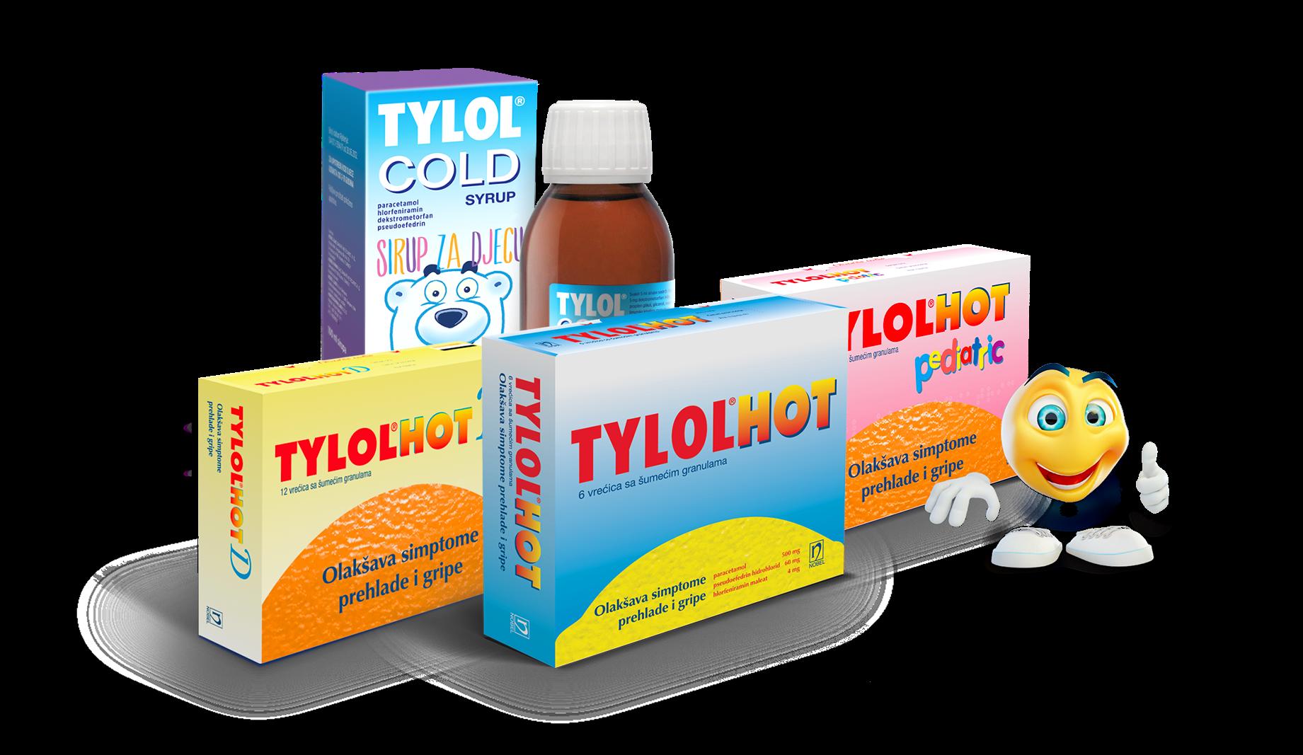 Tylol hot proizvodi