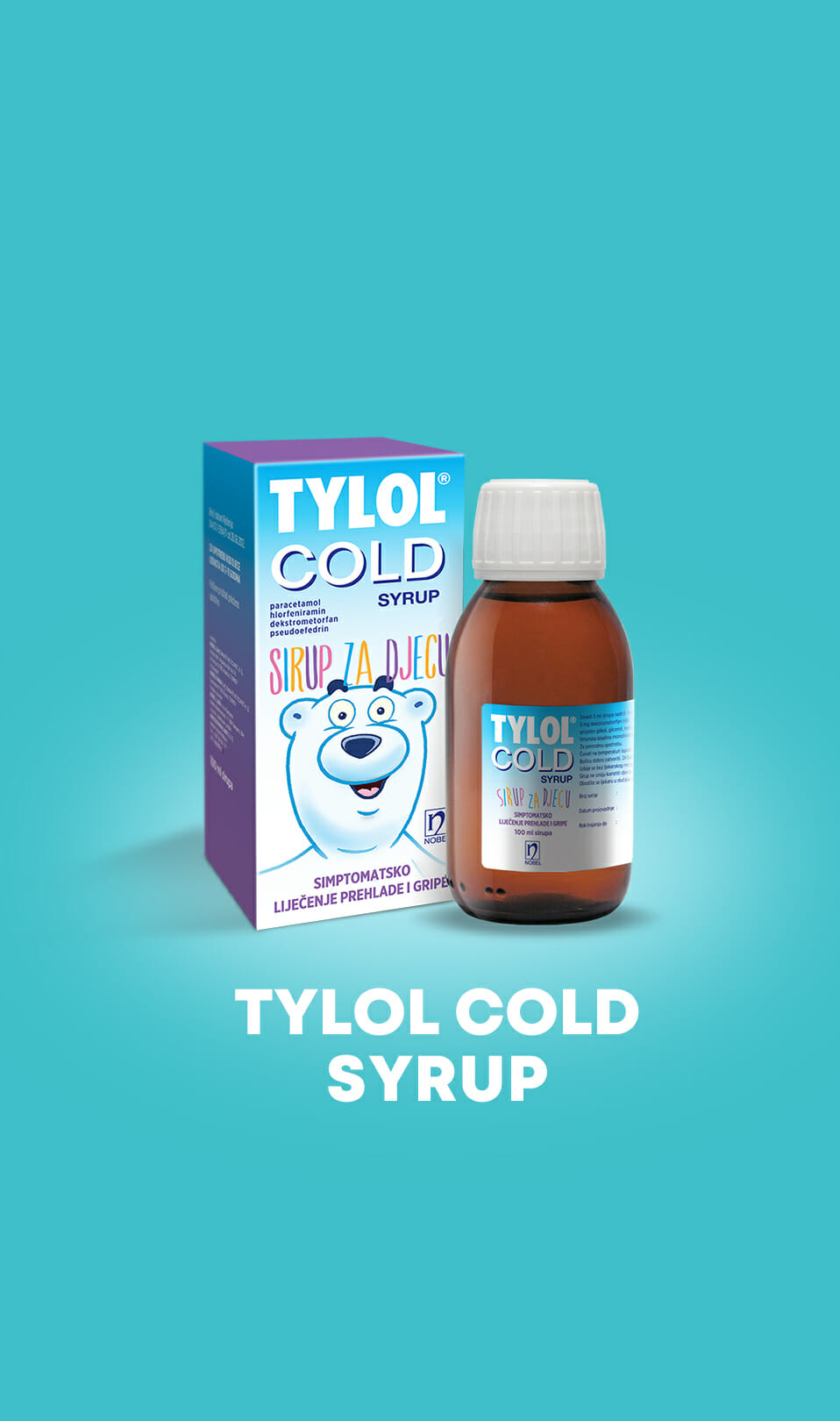 Tylol cold syrup